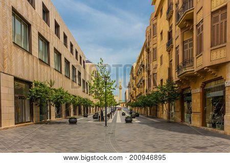 Beirut Souks capital city of Lebanon Middle east