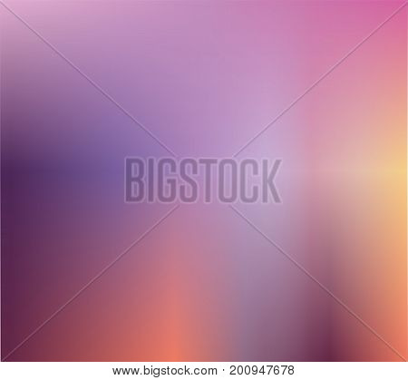 Abstract Violet blurred gradient background with light. Blend Gradient Style. Vector illustration. Ecology concept for your graphic design banner or poster