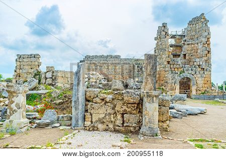 Remains Of Perge