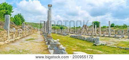 The Street With Columns, Perge