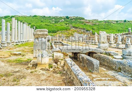 Water Canal In Perge