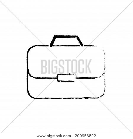 figure briefcase to businessman important documents pepers vector illustration