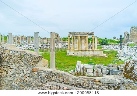 The Tyche Temple In Side