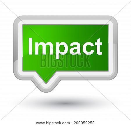Impact Prime Green Banner Button