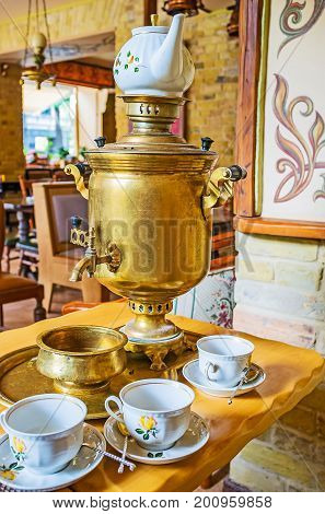Enjoy Traditional Russian Tea Ceremony