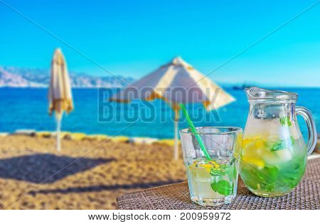 Refreshing Beverages In Eilat