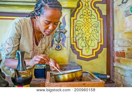 Watch The Ethiopian Coffee Ceremony
