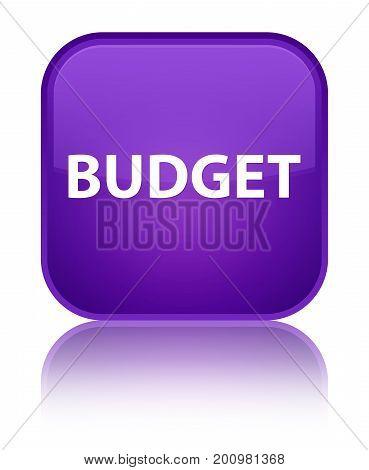 Budget Special Purple Square Button