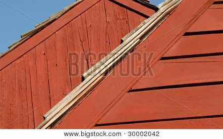 Colors,Lines,Shapes,Patterns and Textures of Old Colonial Barns