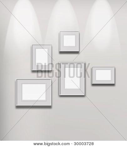 Illuminated Art Gallery