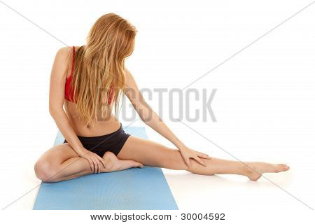 Stretch Out Leg To Side