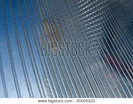 Abstract Transparent Blue Glass Material, Industry Details