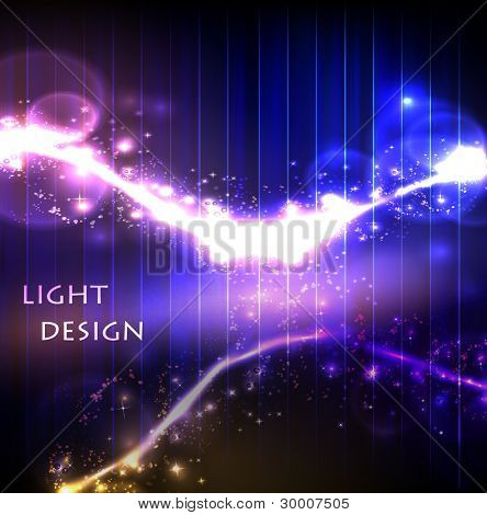 Creative dynamic light element, easy colors editable
