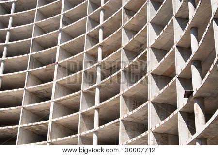 Construction Frame Of Modern Building