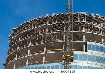 Construction Of Modern Office Buildings 3
