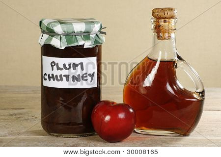 Organic Home Made Plum Chutney