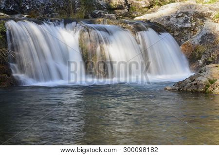 Waterfalls; The Beauty Of Nature Forces On Mountain