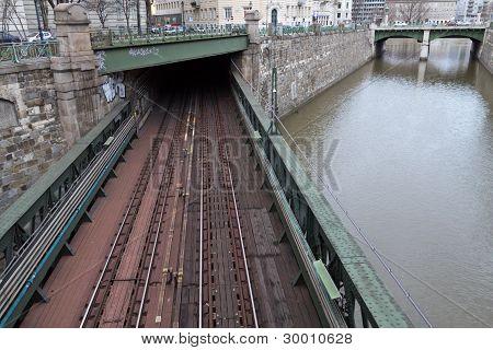 Vienna Underground Bridge
