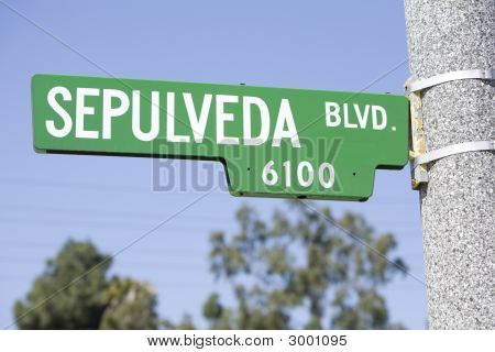 Sepulveda Sign