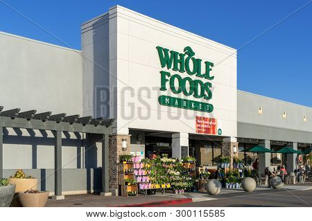 Whole Foods Market Exterior And Logo