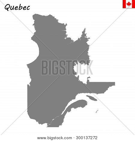 Map Of Canada Silhouette.High Quality Map Vector Photo Free Trial Bigstock