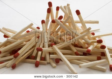 Unused Matchsticks