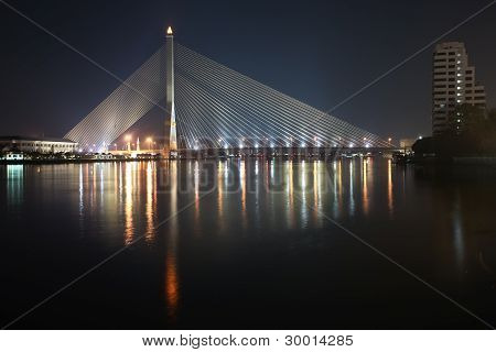 Bangkok Suspension Bridge