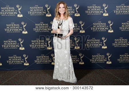 PASADENA - May 5: Kathie Lee Gifford in the press room at the 46th Daytime Emmy Awards Gala at the Pasadena Civic Center on May 5, 2019 in Pasadena, California