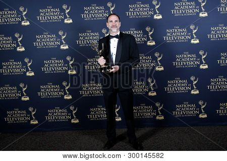 PASADENA - May 3: Outstanding Art Direction-Set Decoration-Scenic Design for a Drama Series in the press room at the 46th Daytime Creative Arts Emmy Awards Gala on May 3, 2019 in Pasadena, CA