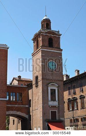 Loggia dei Notai. Ferrara. Emilia Romagna. Italy.