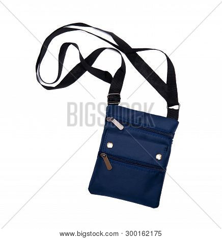 Neck Bag Isolated On The White Background
