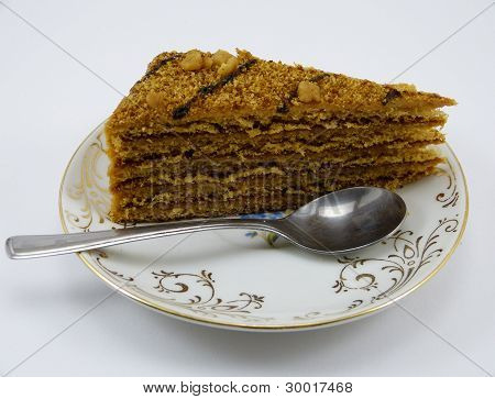 honey gingerbread cake