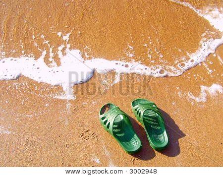 Slippers On Coast.