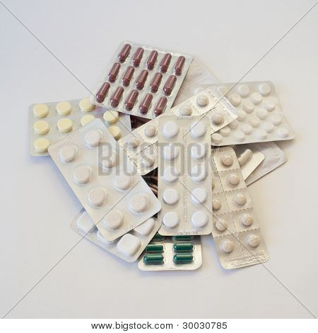Tablets in blister