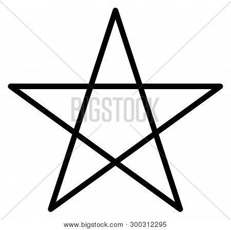 Pentacle Five-star Magic Wicca White Rituals Five