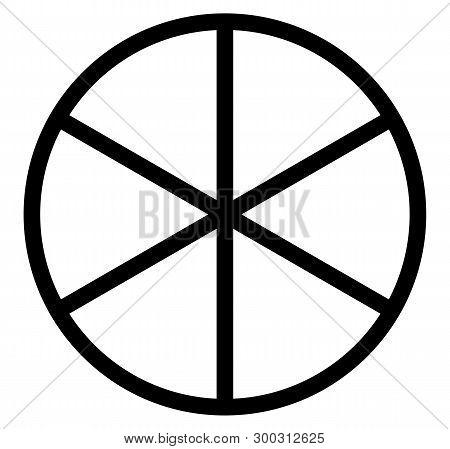 Sun Wheel Mandala Circle Of Life Order Symbol Fate Cycle Rebirth