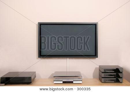 Plasma Tv Screen With Hifi