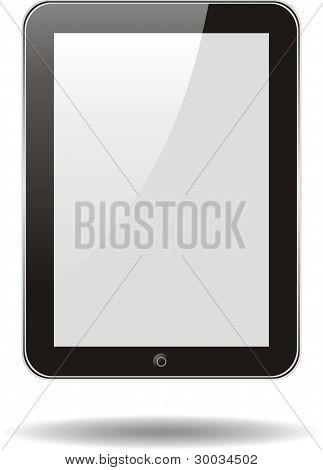 Vector concepto Tablet Ps, Ipad. No hay efectos de transparencia. Eps8 sólo