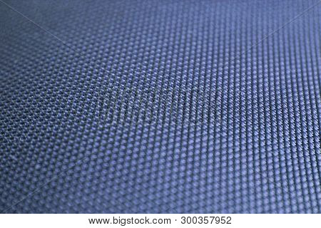 Abstract Blue Texture. Cerulean Background With Selective Focus, Low Angle View