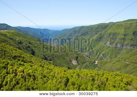 Mountains On Madeira Island