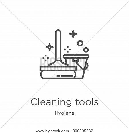 Cleaning Tools Icon Isolated On White Background From Hygiene Collection. Cleaning Tools Icon Trendy
