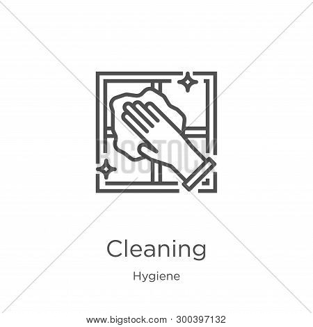 Cleaning Icon Isolated On White Background From Hygiene Collection. Cleaning Icon Trendy And Modern