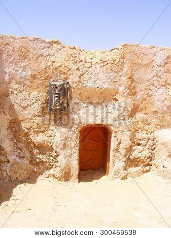 6/28/2010 - Tozeur, Tunisia: Abandoned Sets For The Movie Star Wars - Mos Espa, Planet Tatooine