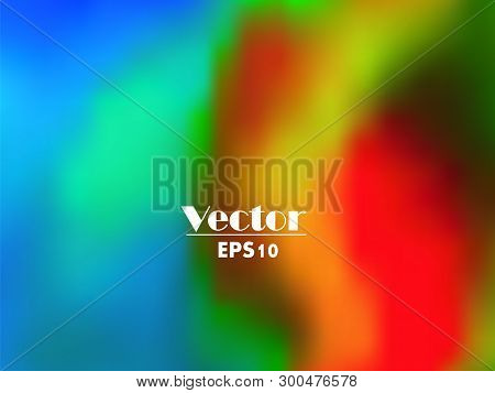 Multi Color Vector Background, Red, Yellow And Blue Mesh Gradient, Abstract Colorful Backgrounds