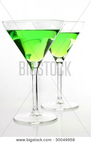 Color photograph of glasses of wine
