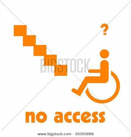 handicapped unfriendly
