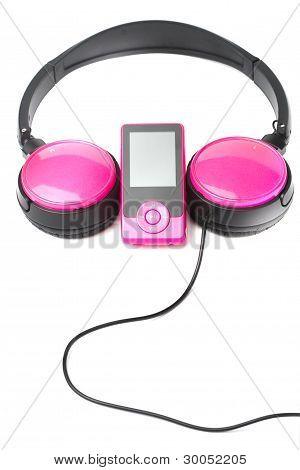 Headphones And Media Player