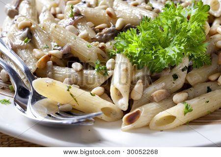 Macaroni With Mushrooms