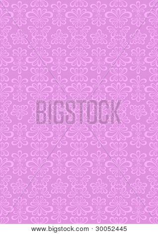 Oriental ornament of in pastel purple background.Wallpaper.