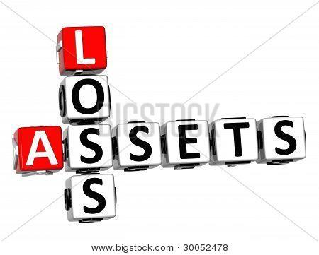 3D Assets Loss Crossword